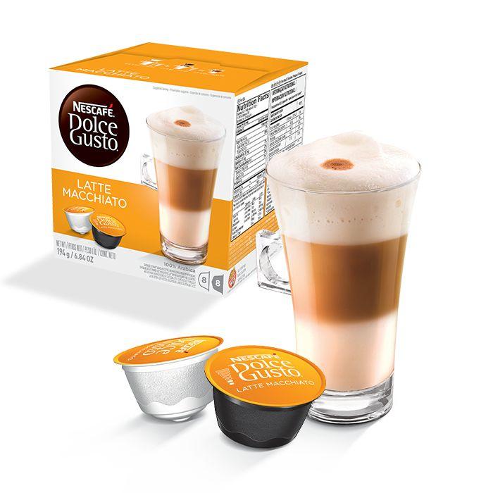 capsule nescafe dolce gusto LATTE MACCHIATO Cafe au lait