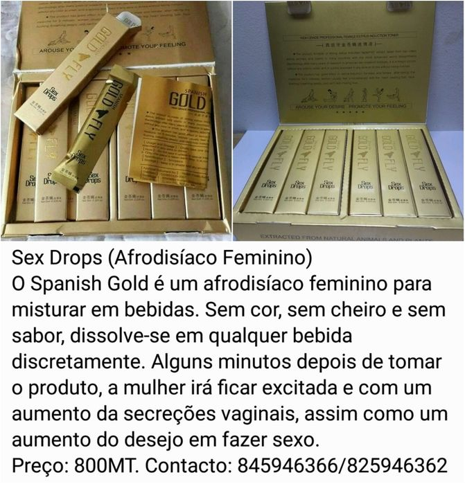 Gold Fly Sex Drop's