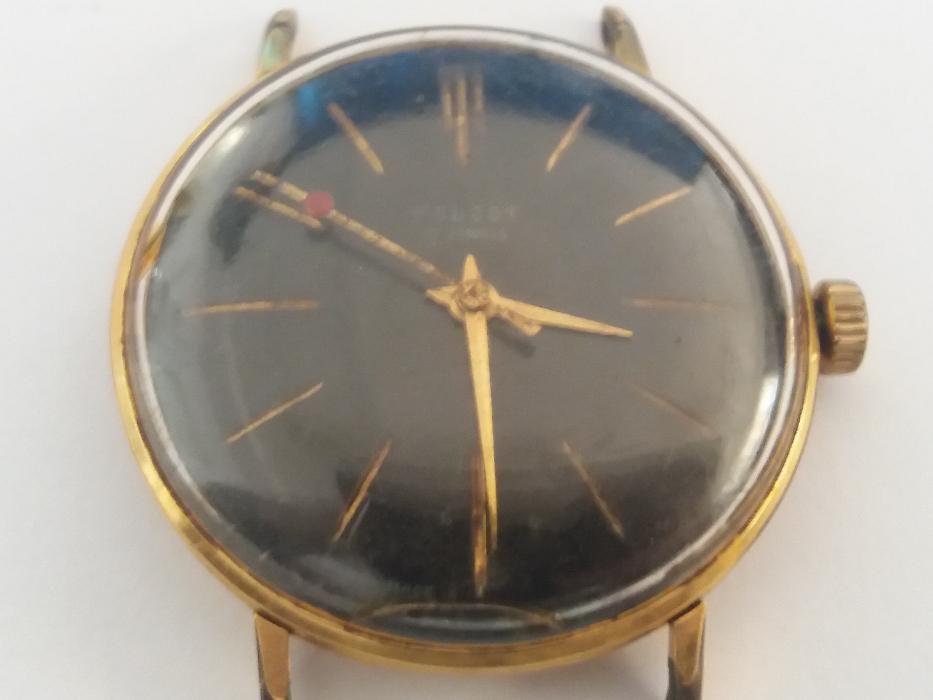 Ceas Poljot - 17 jewels placat cu aur AU 20 - functiunal
