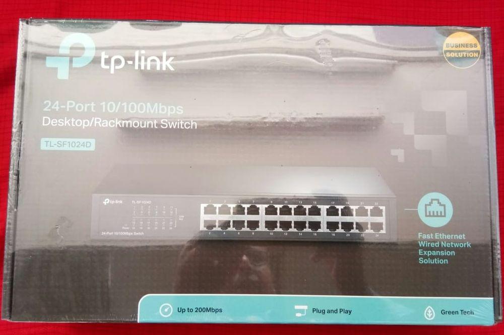 TP Link 24 Port 10/100 Mbps