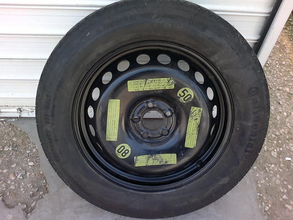 резервна гума патерица за мерцедес Gl и МL 5x112 18, 19 и 20цола
