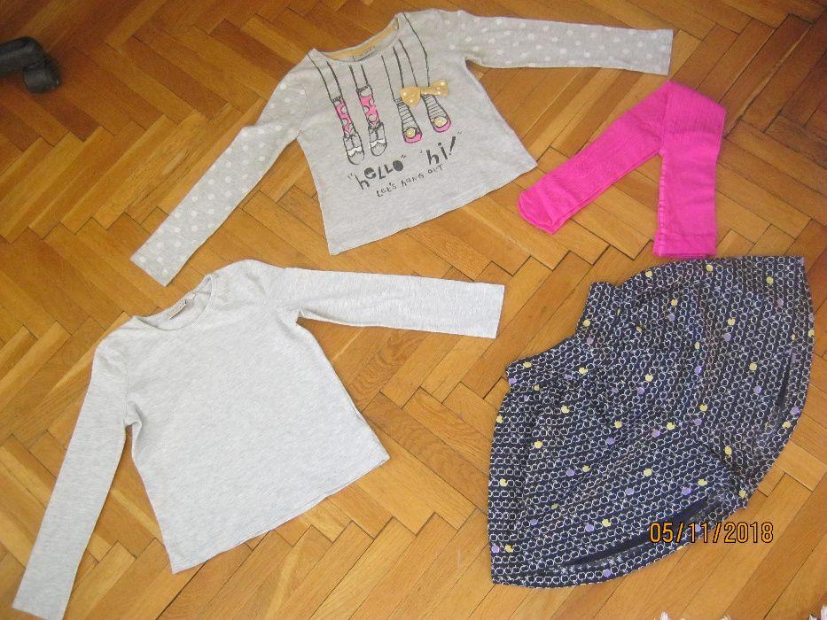 Сет Next: Пола-панталон, 2 блузка и нов чорапогащник