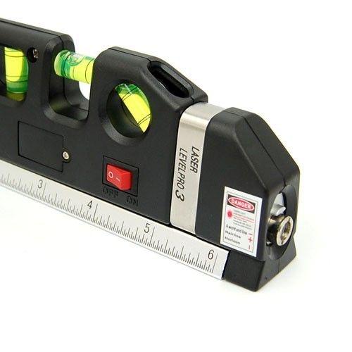 Nivela Boloboc Level Pro 03 cu Laser si Ruleta de 2,5m