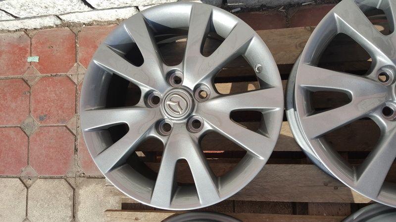 Jante Mazda 3 6.5x16 et 52.5 5x114,3 Oradea - imagine 6