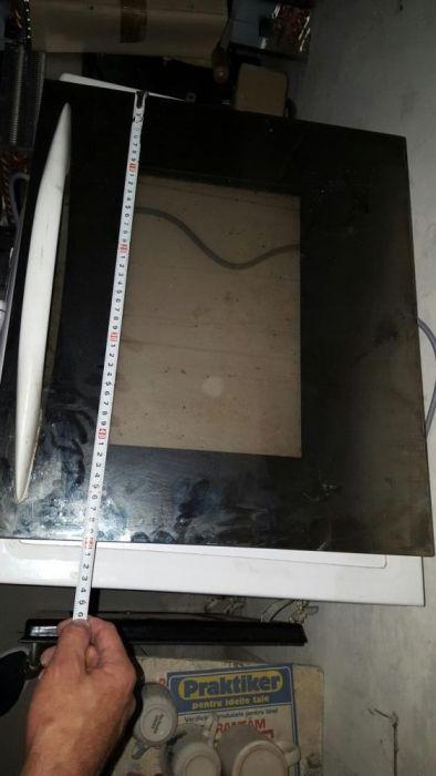 Geam aragaz zanussi 49,5 x 43,5 beko arctic ariston cuptor electrolux