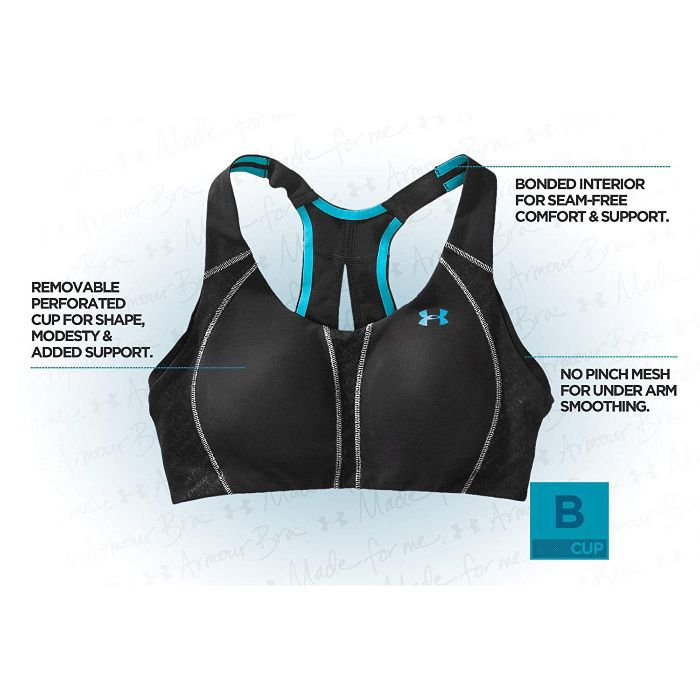 Under Armour Womens Armour Bra 38 B Cup