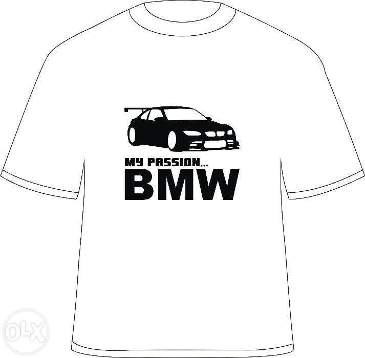 "Tricou personalizat ""My Passion... BMW"""