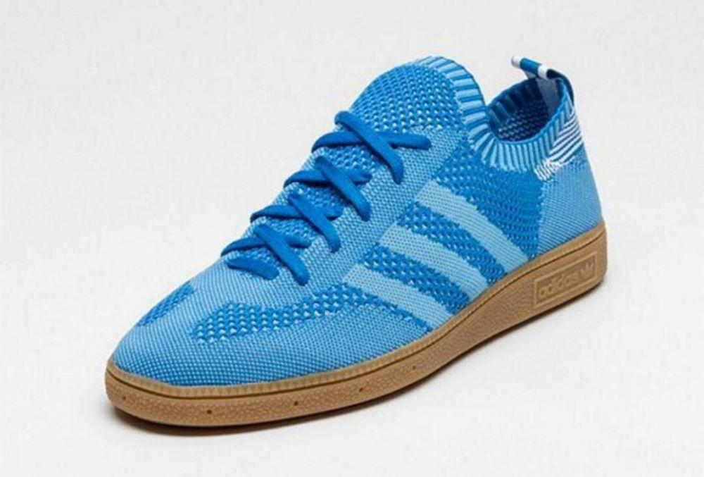 Adidas sola virgem azuis de pano