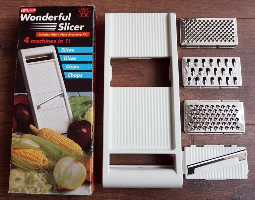 Мултифункционално ренде Wonderful Slicer - 4 в 1