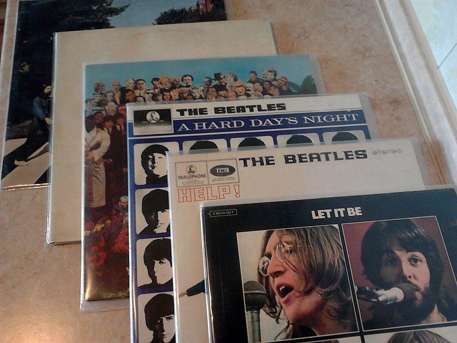 Виниловые пластинки - Beatles