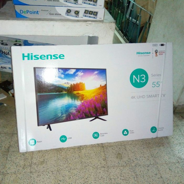 Tv Hisense 55polegads