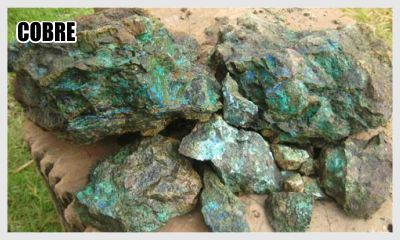 Vende-se uma jazida de cobre e outros minérios pará