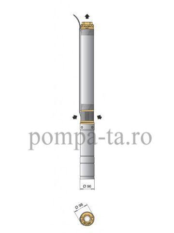 Pompe submersibile pentru foraje, puţuri, cu protectie la nisip! Bistrita - imagine 6