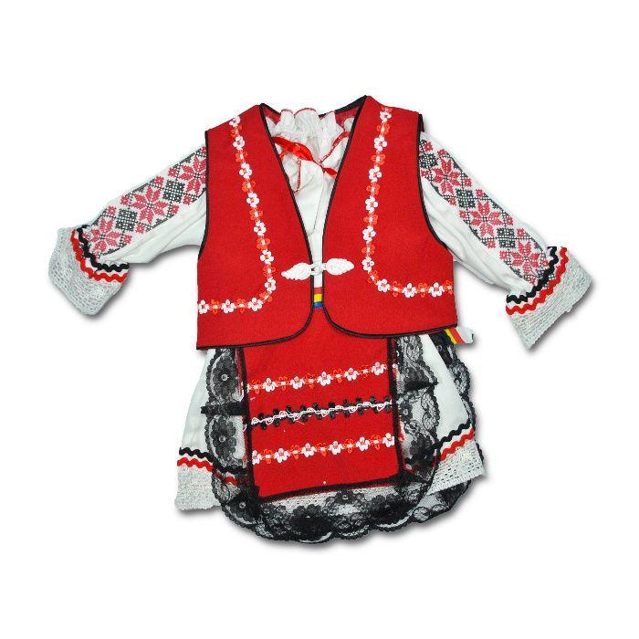 Costum national bebe | Costum traditional fete | Costum popular copii