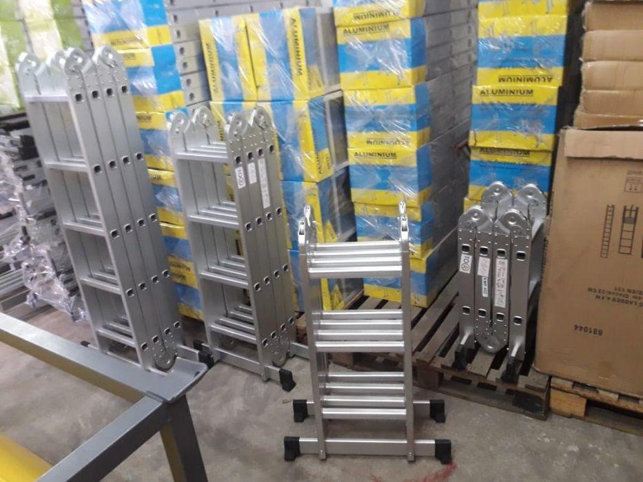 Escadotes articulados em alumínio alta qualidade modelo KMP403