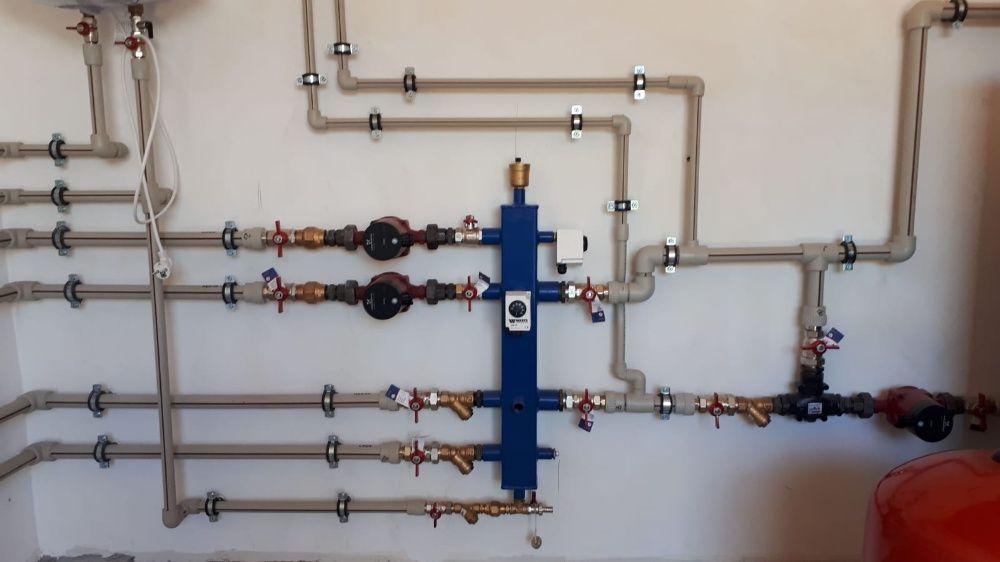 Butelie egalizare / separator hidraulic ECOSMART cu 2 circuite