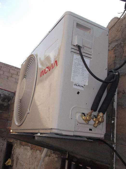 Montagem, manutenção e reparação de ar condicionado