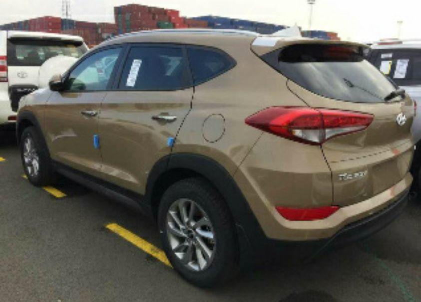 Hyundai Tucson disponivel