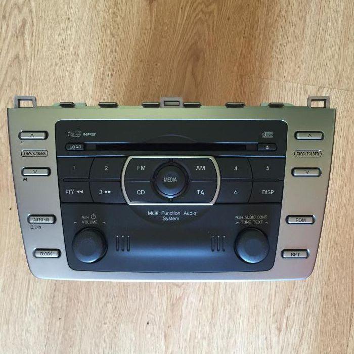CD/MP3 чейнджър 6 диска за Mazda 6