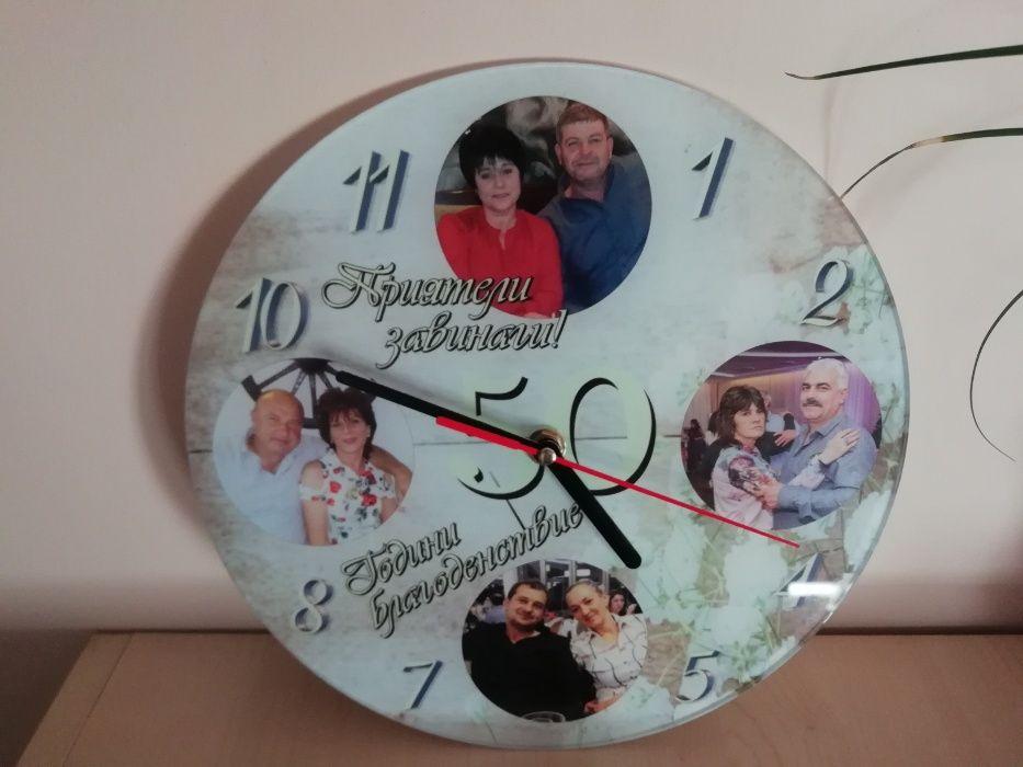 часовник , магнит-със снимка, родословно дърво