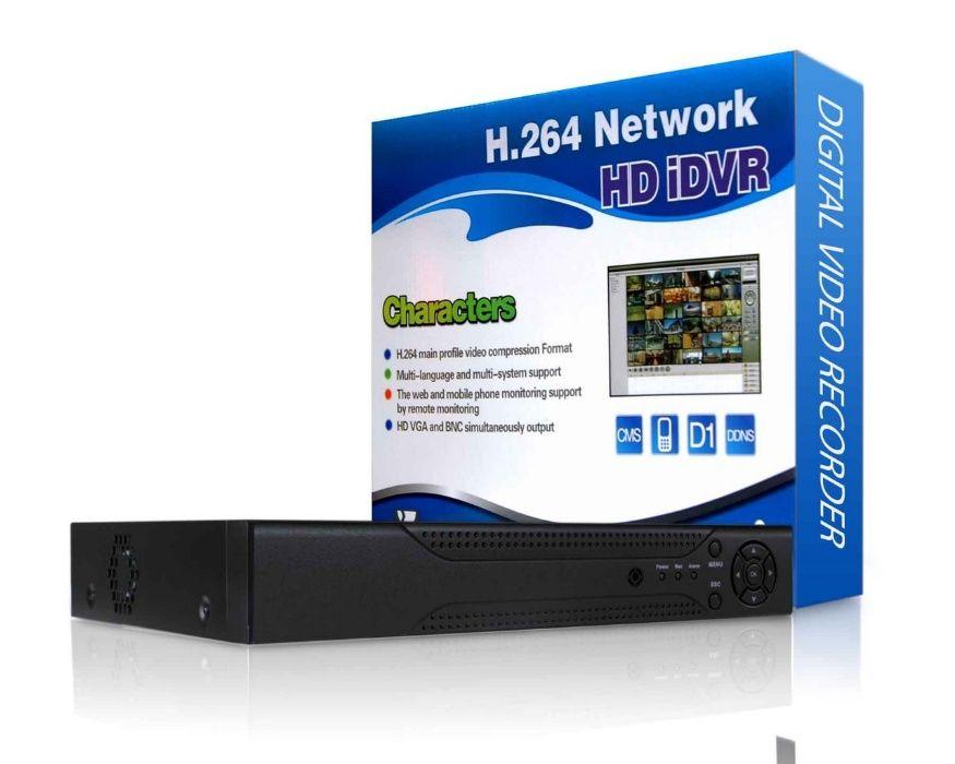 DVR novo, de 4 canais H.264