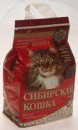 """Наполнитель Сибирская кошка """"Экстра"""" 5л комкующийся"""