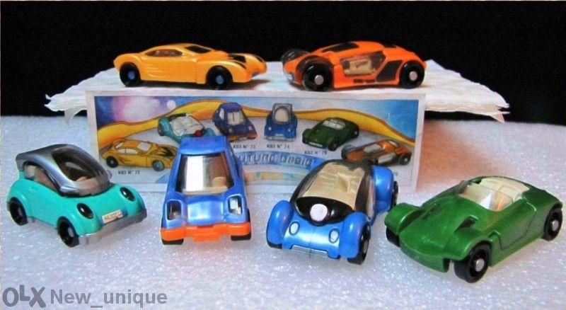 Киндер колички от серията Автомобили сдизайн от бъдещето – Auto Future