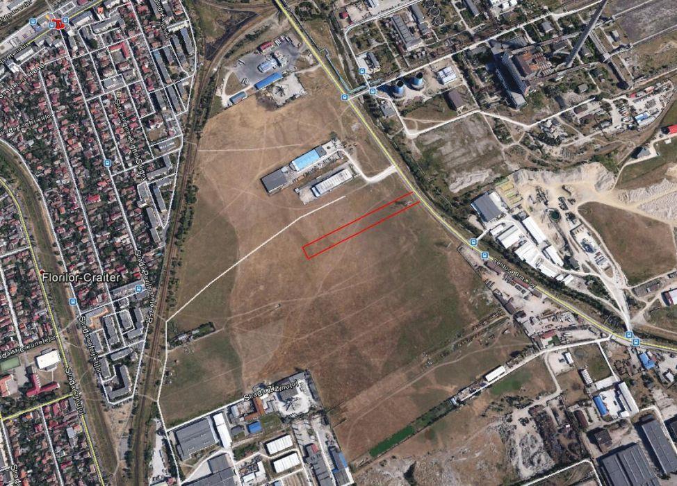 Teren intravilan de Brasov, destinat constructiilor industriale.