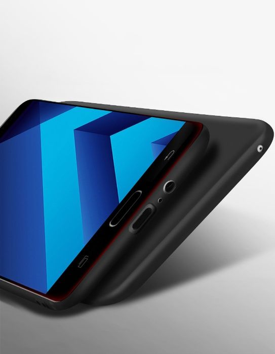 Husa slim mata, TPU fin si moale Hoco Samsung A3 2017 back cover negru