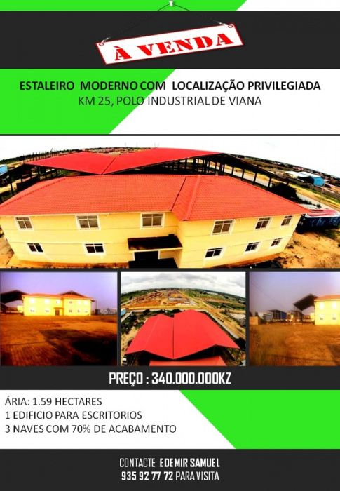 A venda polo Industrial em Viana