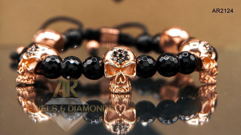 Bratara Aur Rose Skull Collection ARJEWELS model nou AR2124