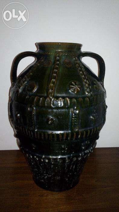 Vas ceramic vechi, arta, antichitate, 1920, de colectie