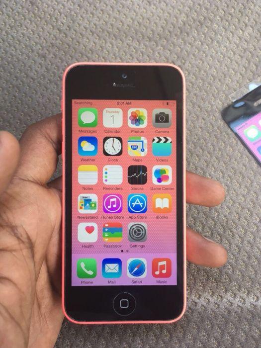 iPhone 5c vermelho 8gb novo nunca usado