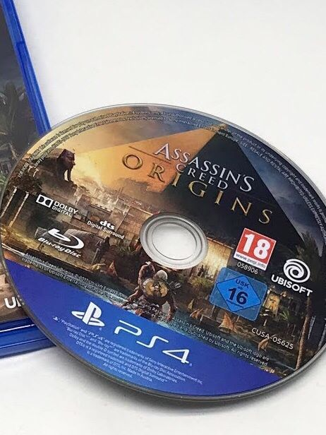 CD assassinscreed origins Ps4