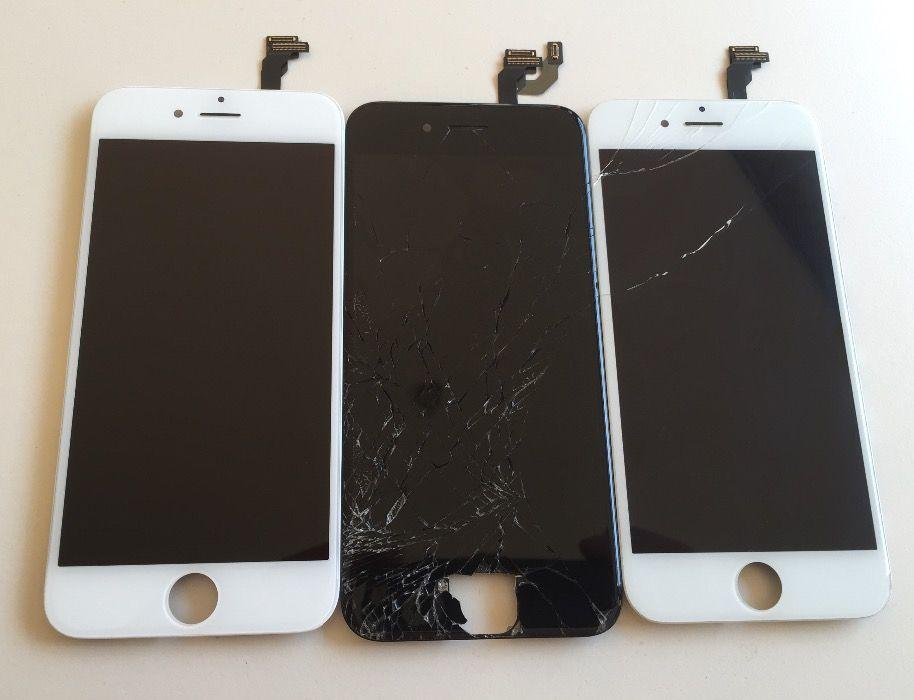 Display iPhone 5 5s 5c 6/+ 6s/+ 7 Schimb Sticla Geam Complet Montaj