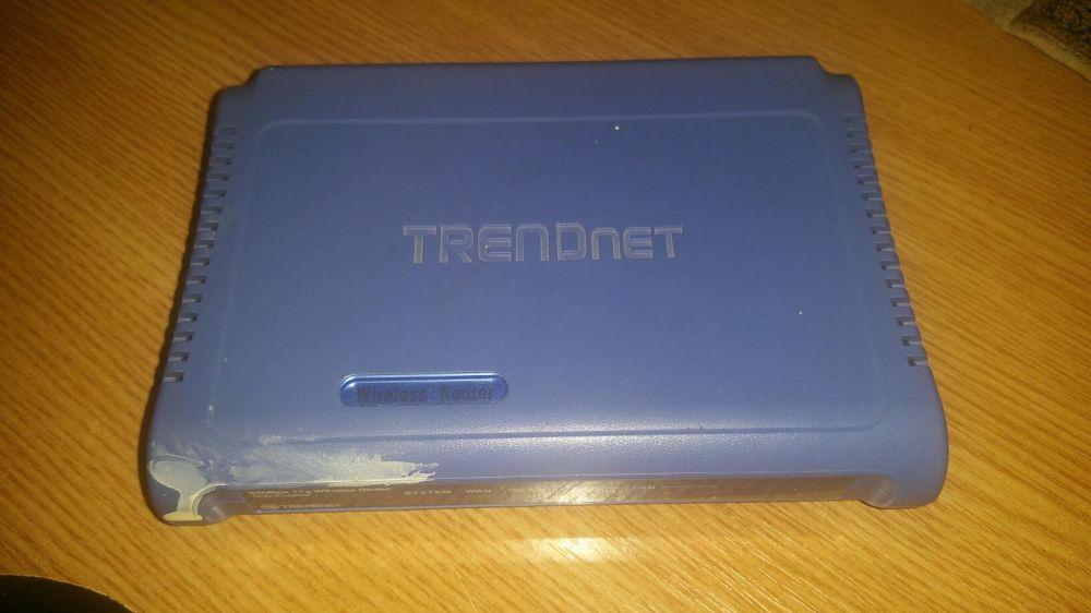 Router Trendnet.