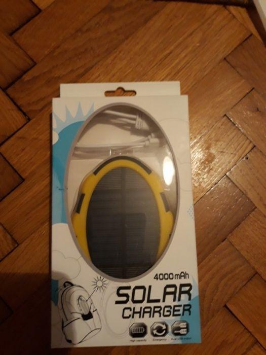 Incarcator solar/acumulator extern - 4000 mah