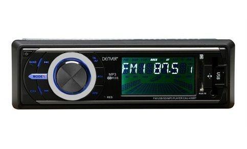 Радио за кола DENVER CAU 439BT с USB/SD, MP3, Bluetooth - нови с гаран