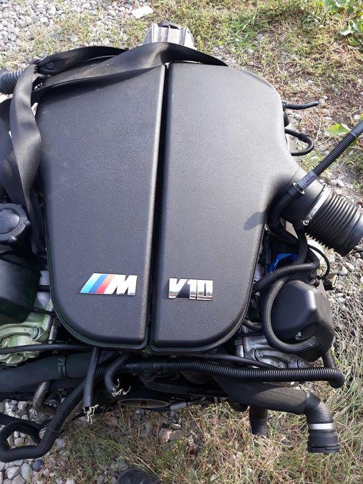Dezmembrez bmw M6 Motor V10 507cai m5 frane cutie scaune plansa volan