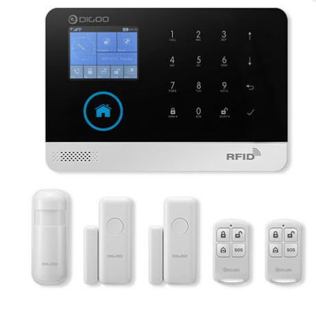 Sistema de alarme de segurança domestica inteligente