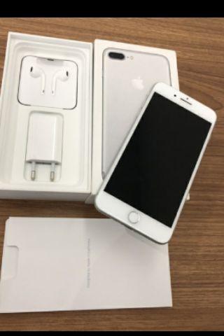 Vendo iphone 7 plus 128 gb novos na caxa com todos acesorios