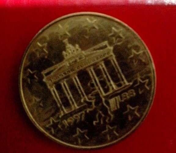 moneda 2 1/2 euro,1977,saptamana europeana Berlin