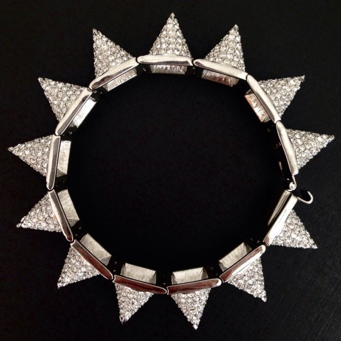 CC Skye гривна с кристали, перфектна, за подарък