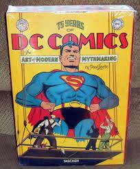 TASCHEN 75 Years of DC Comics XXL 10KG carte ff rara album foto arta