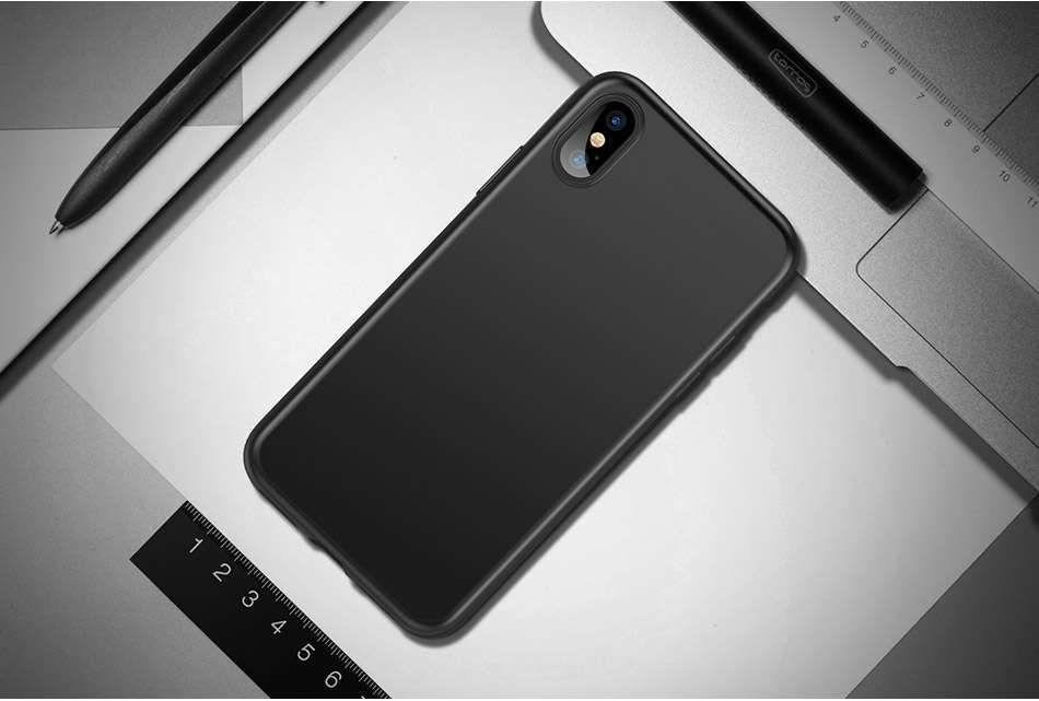 Husa Slim 0.3mm Silicon Neagra - Iphone 7 7+ 8 8+ X XS 10 XR XS MAX