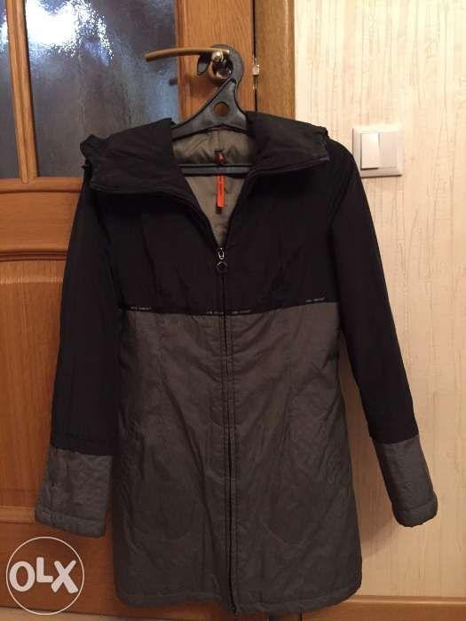 Осенняя удлиненная куртка