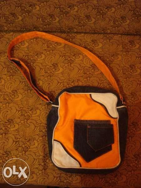 Дамска дънкова чанта