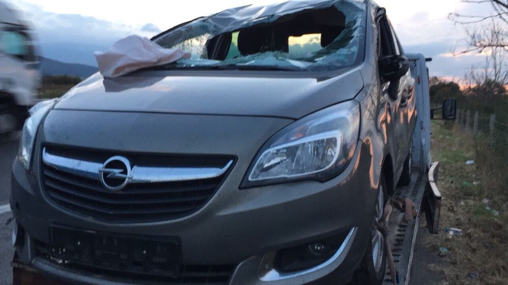 НА ЧАСТИ! Opel Meriva B , 1.4i , Turbo 120 кс. 2015 г. Опел Мерива Б