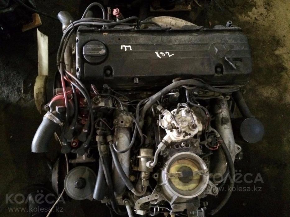 Контрактный двигатель на Мерседес из Германии без пробега по СНГ.