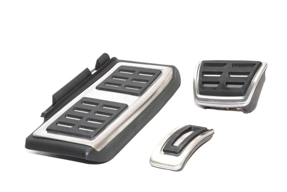 Set Pedale Inox + Footrest transmisie automata DSG VW Passat B8/Skoda